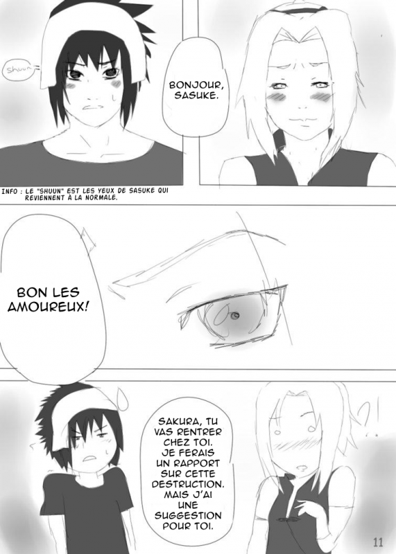 Doujin SasuSaku : Different
