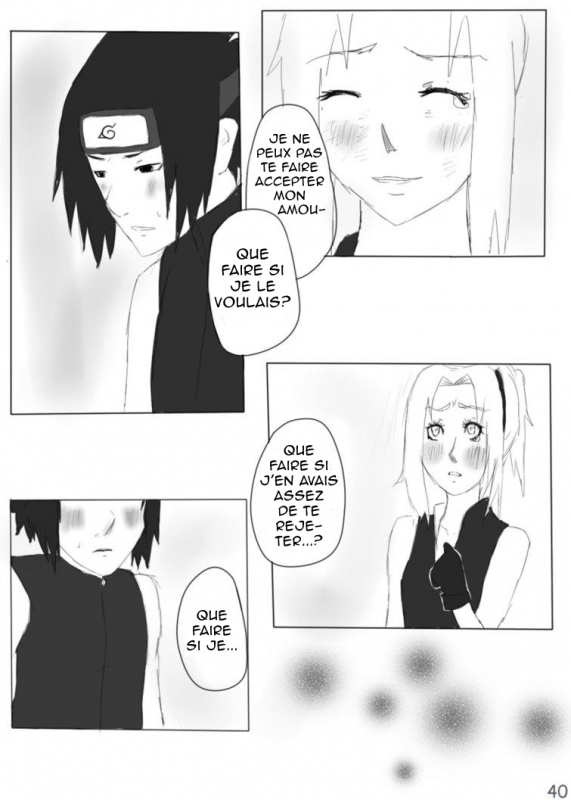 Doujin SasuSaku : Different [suite 5]