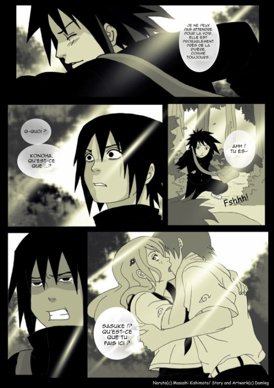 Doujin SasuSaku : Konoha High School [suite 13]
