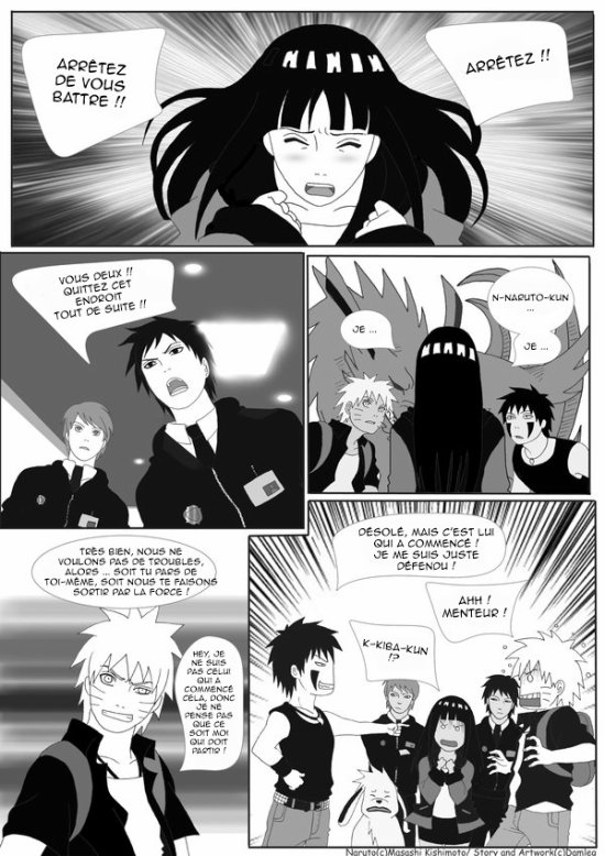 Doujin SasuSaku : Konoha High School [suite 15]