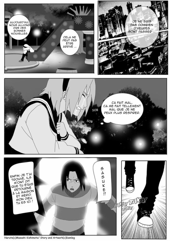 Doujin SasuSaku : Konoha High School [suite 25]