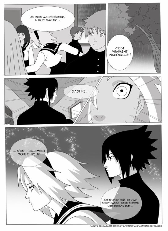 Doujin SasuSaku : Konoha High School [suite 26]