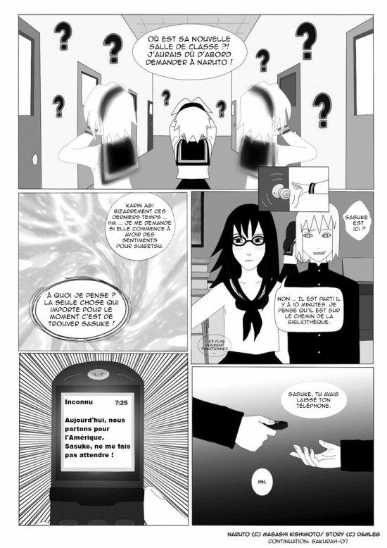 Doujin SasuSaku : Konoha High School [suite 26]