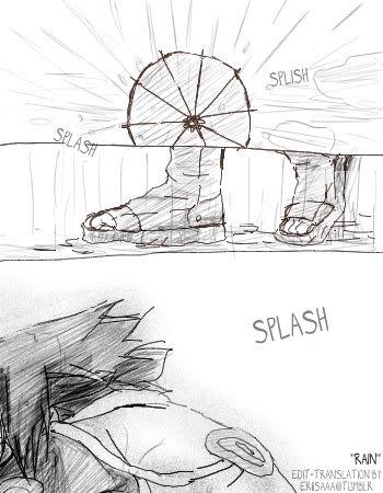Doujin SasuSaku : Rain