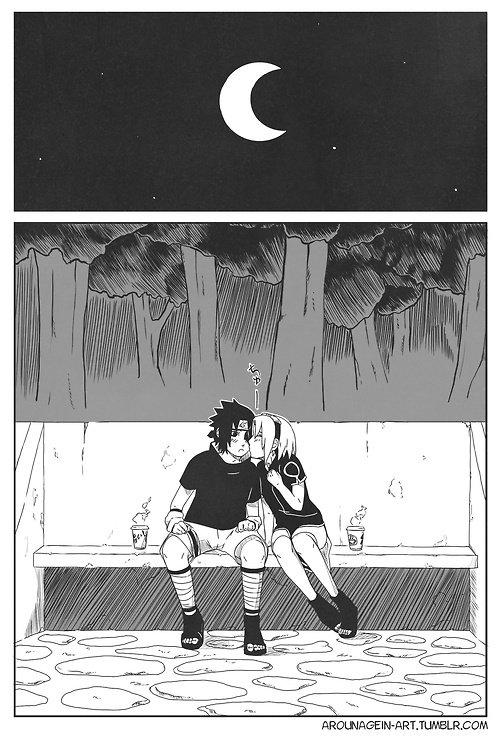 SasuSaku Month [Jour 7 : Night Out]