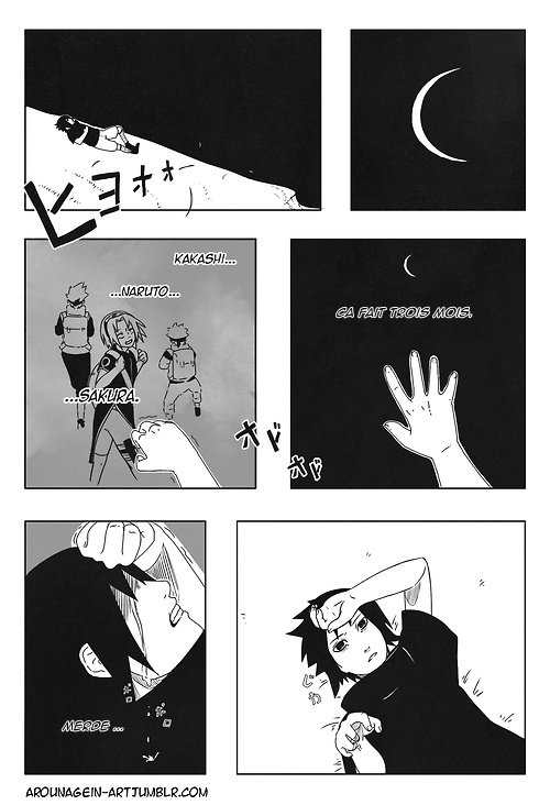 SasuSaku Month [Jour 11 : A Night With No Stars]