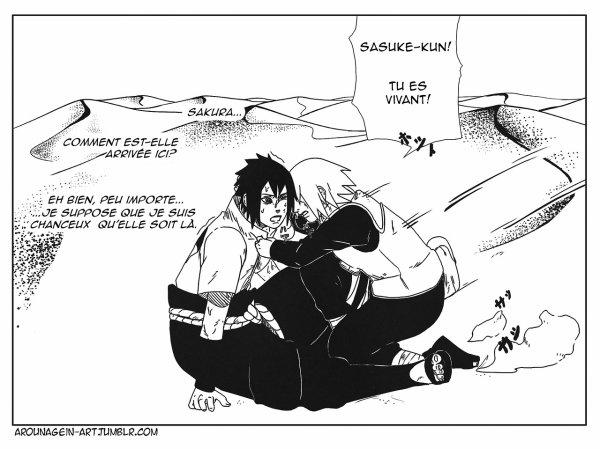 SasuSaku Month [Jour 12 : Silver Lining]
