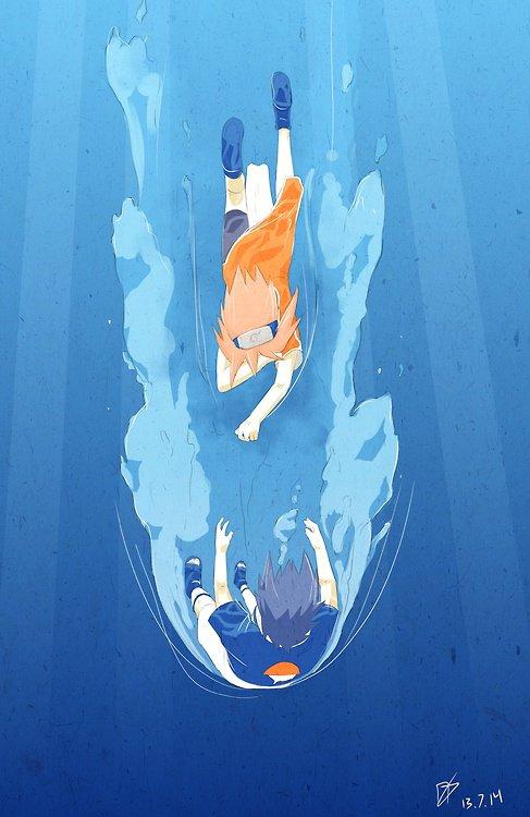 SasuSaku Month [Jour 13 : Drowning]