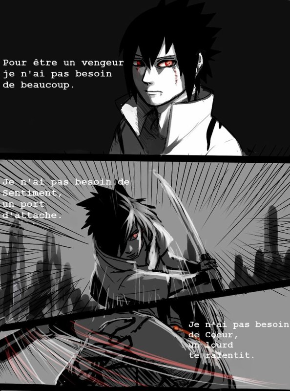 SasuSaku Month [Jour 14 : His Side of the Story] & [Jour 15 : Her Side of the Story] (suite)