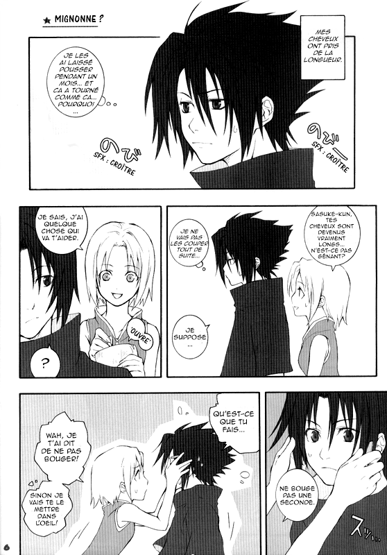 Doujin SasuSaku : She so cute