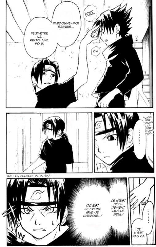 "Doujin SasuSaku : でこっぱち (Dekoppachi) ""Forehead Punch"""