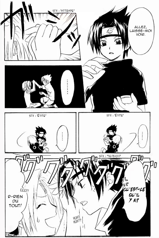 "Doujin SasuSaku : でこっぱち (Dekoppachi) ""Forehead Punch"" [suite 2]"
