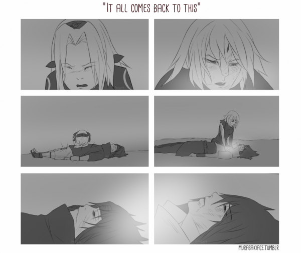 SasuSaku Month [Jour 30 : It All Comes Back to This]