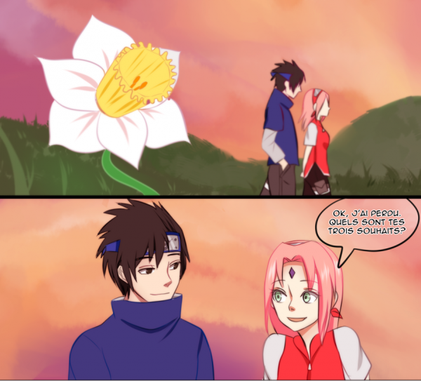 SasuSaku Month [Jour 31 : Three Wishes]