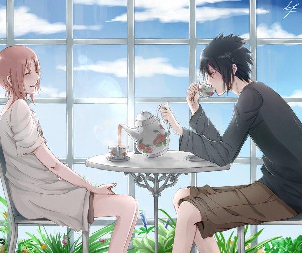 SasuSaku Month [Jour 23 : A Hot Cup of Tea] (suite)