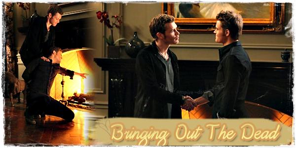 """""""Bringing Out The Dead"""" épisode 13 Saison 3"""