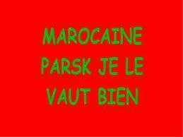 Marocaine est fiere