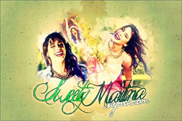 Bienvenue sur SweetyMartina , Ta source sur Martina Stoessel !