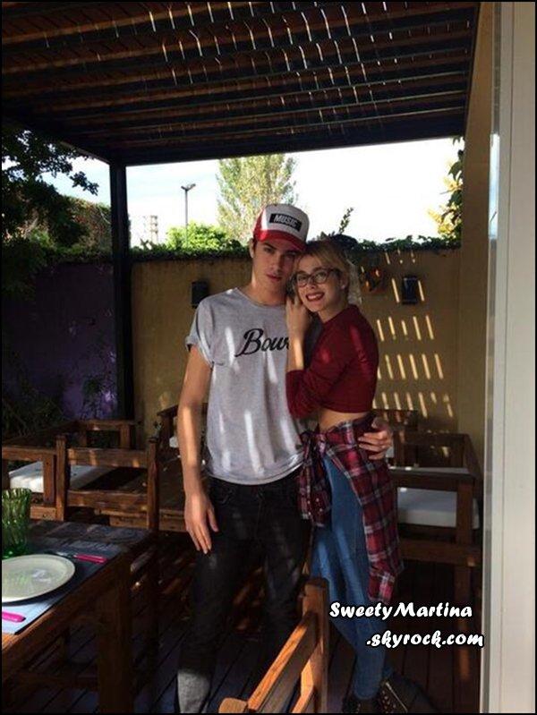 Martina et sa sorti de ligne de vétements avec Marimba