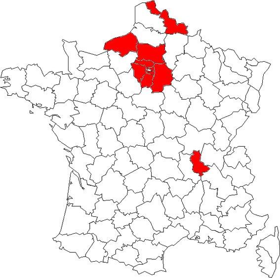 LES DEPARTEMENT LES PLUS VIOLENTES DE FRANCE