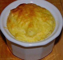 Semoule au fromage et jambon
