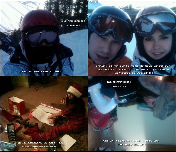 . TheVampireDiarie TWITTER | Voici des photos que Nina a récemment posté sur son Twitter ainsi que les traductions approximatives de ses tweets. .
