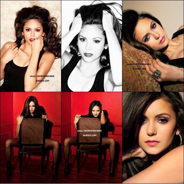 . TheVampireDiarie PHOTOSHOOT | Nouveaux outtakes d'un ancien shoot de Nina par Jake Bailey datant de 2010. Juste magnifique ! .