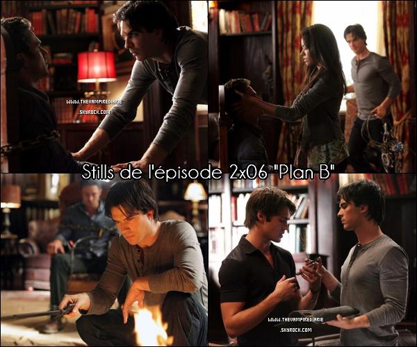 """. TheVampireDiarie NEWS   Nouveau still de l'épisode 2x12 """"The Descent"""" avec Damon & Elena, épisode, qui, je le rappelle sortira le 27 janvier. Juste hâte ! ."""