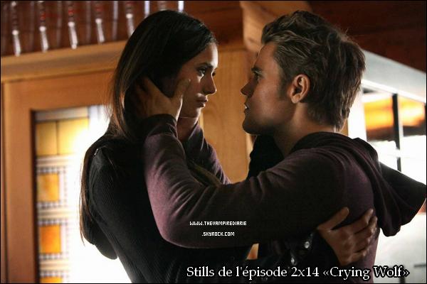 . » Premier aperçu de «Crying Wolf» ! NEWS | 2 stills de l'épisode 2x14 «Crying Wolf» viennent d'être dévoilés. Du 100% Stelena ! Alors, heureux ? .