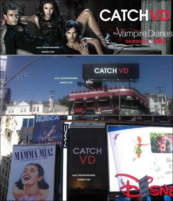 . » Catch VD !  NEWS | Une nouvelle vidéo promo vient de faire son apparition pour le grand retour de la série. On peut aussi voir la série Nikita. Alors, hâte ? .