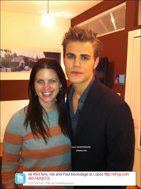 """. » Paul à son premier talk show  VIDEO   Paul était invité au """"Lopez Tonight"""" le 14 février dernier. ."""