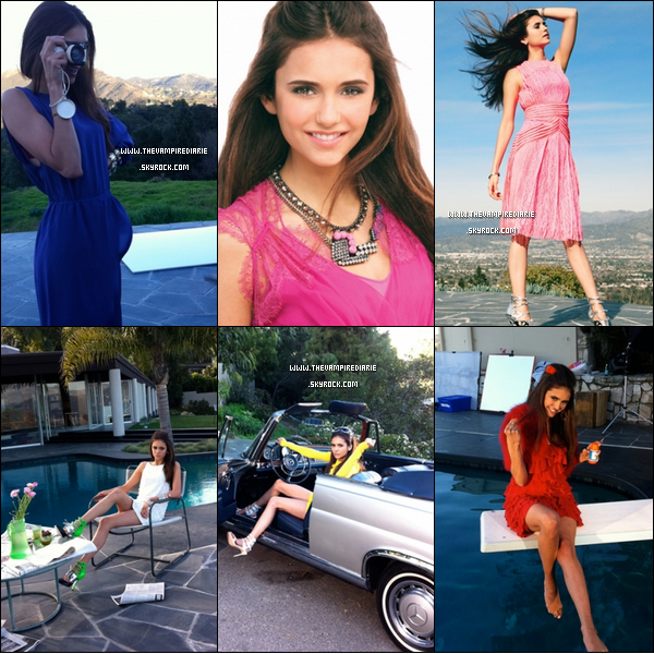 ". SCAN & PHOTOSHOOT | Nina fait la couverture du magazine ""Teen Vogue"" du mois d'avril et a pour l'occasion fait un magnifique photoshoot. Sublime, vous ne trouvez pas ?."