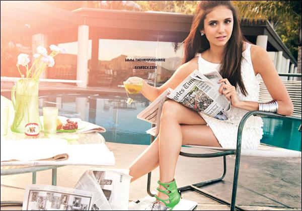 """. SCAN & PHOTOSHOOT   Nina fait la couverture du magazine """"Teen Vogue"""" du mois d'avril et a pour l'occasion fait un magnifique photoshoot. Sublime, vous ne trouvez pas ?."""