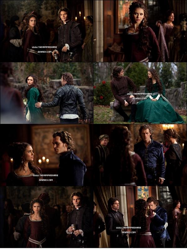 . NEWS | Nouvelles photos promotionnelles de l'épisode 2x19 «Klaus» avec la première apparition de Joseph Morgan en tant que Klaus dans des flashbacks comme on peut le constater avec Katherine et Elijah..