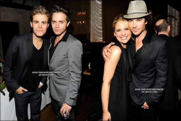 . EVENT - 19 mai 2011 | Nina, Paul & Ian étaient présents au CW Upfront organisé comme chaque année..
