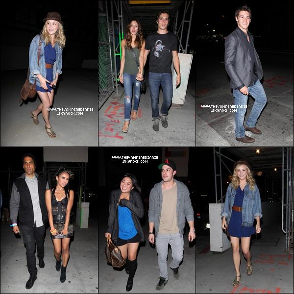 . CANDID - 12 mai 2011 | Candice, Steven, Michael, Katerina & Kayla ont été vus sortant d'un bar à Hollywood..