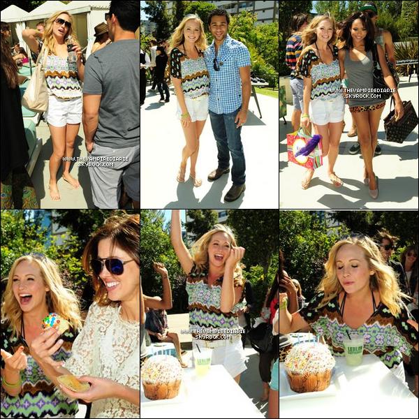 . CANDID - 15 mai 2011 | Candice a célébré son 24e anniversaire avec notamment une grande partie du cast  (Katerina, Kayla, Matt & Zach). Et ce, dans une ambiance très conviviale comme l'attestent ces photos..