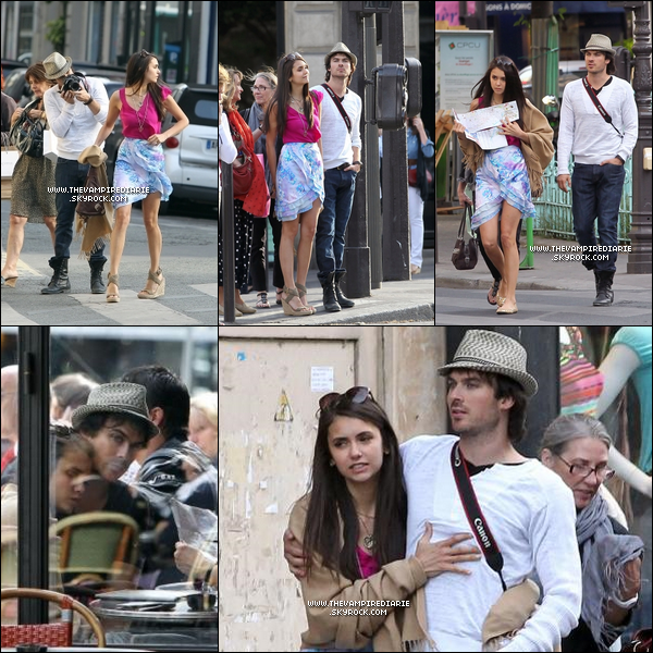 . CANDID - 24 mai 2011 | Le couple Nian officialise enfin en se baladant main dans la main à Paris.+ Interview exclusive de Ian pour TF1 ici.