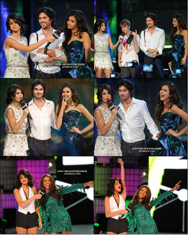 . EVENT - 19 juin 2011 | Nina, Ian & Katerina étaient présents au Much Music Video Awards..