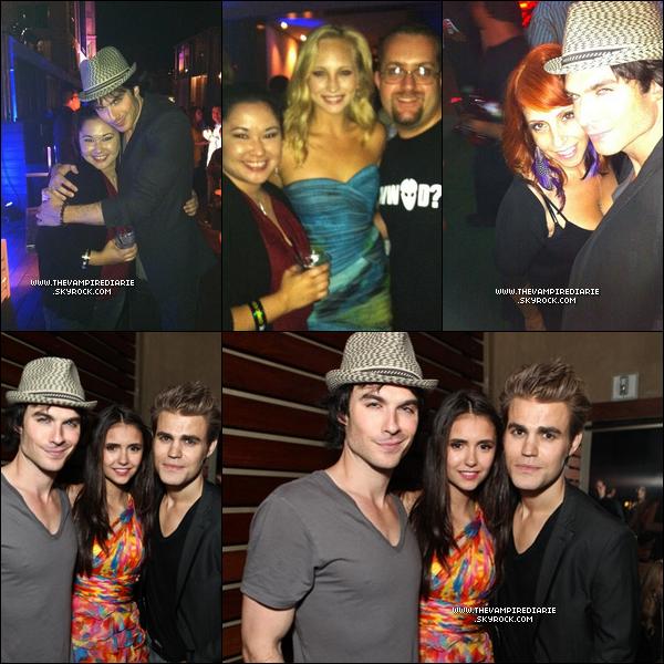 . EVENT - 22 juillet 2011 | Nina, Ian, Paul, Candice & Joseph étaient au Camp Playboy Party au Comic Con..