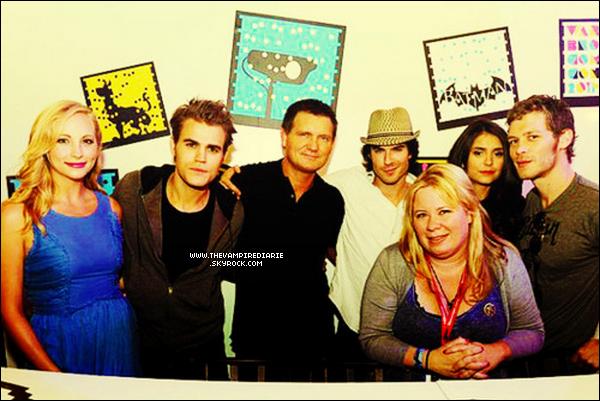 . EVENT - 23 juillet 2011 | Nina, Ian, Paul, Candice & Joseph lors du Comic Con..