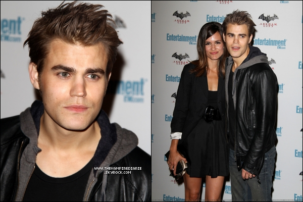 . EVENT - 22 juillet 2011 | De nouvelles photos de Nina, Ian & Paul au Camp Playboy Party au Comic Con..