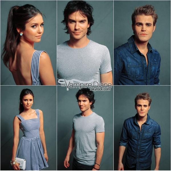 . EVENT - 07 août 2011 | Le trio, Katerina & Michael dans les coulisses des Teen Choice Awards 2011..