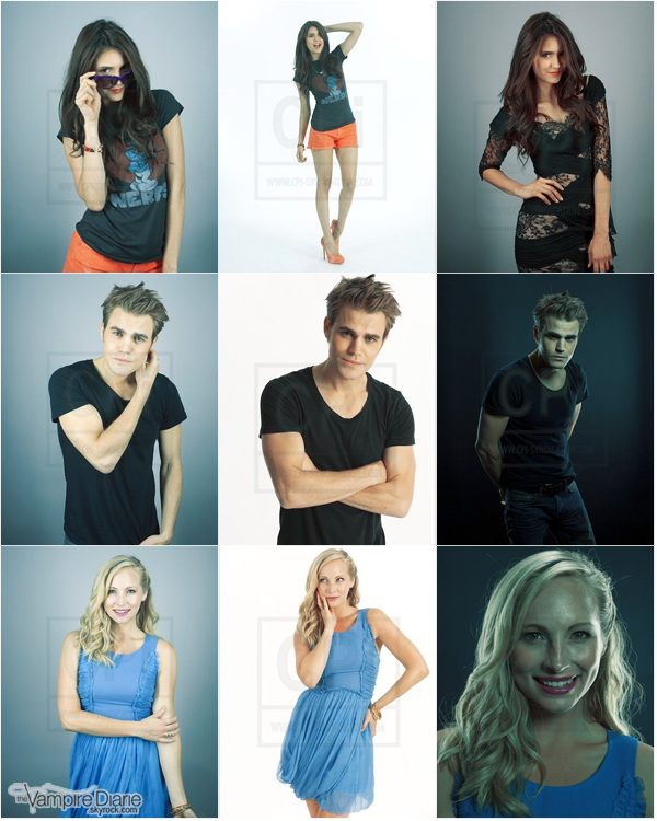 . PHOTOSHOOT | Portraits inédits du Cast pour Entertainment Weekly au Comic Con 2011 de San Diego..