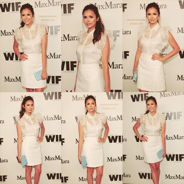EVENT - 12 juin 2012 | Nina à la soirée cocktail « Women In Film » organisée par Max Mara au Sunset Towers.