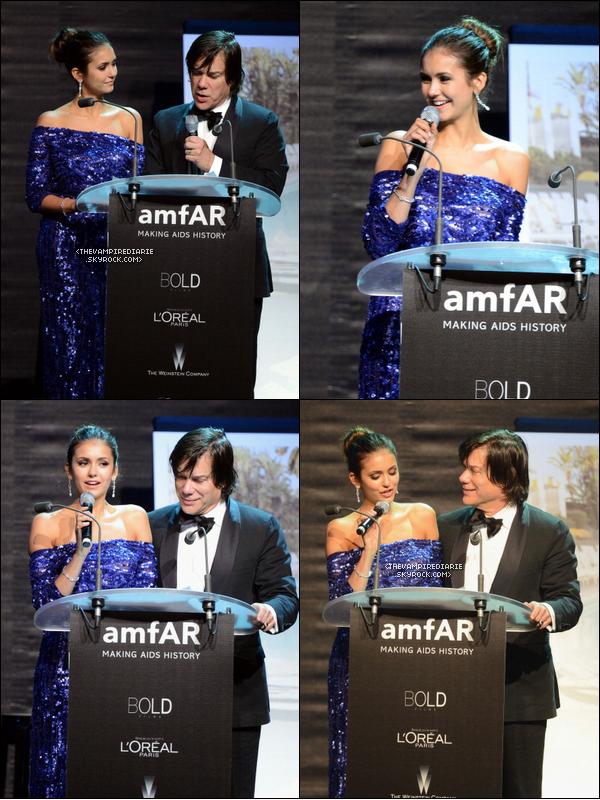 EVENT - 24 mai 2012 | Nina s'est rendue à l'évènement Cinema Against AIDS organisé par amfAR à Antibes.