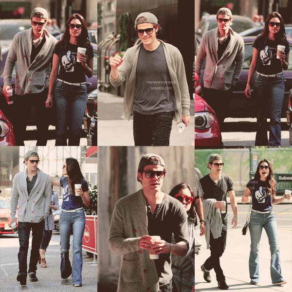 CANDIDS&EVENT   Nina en Bulgarie, Ian au Brésil tandis que Paul était à New York avec Torrey.
