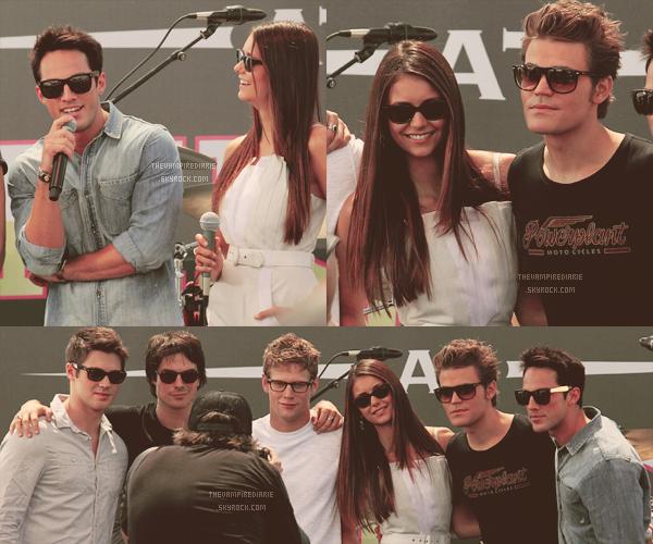 EVENT - 14 juillet 2012 | Nina, Ian, Paul, Michael, Zach & Steven sont au Comic Con de San Diego. - Partie 1