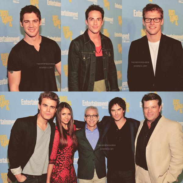EVENT - 14 juillet 2012 | Nina, Ian, Paul, Michael, Zach & Steven sont au Comic Con de San Diego. - Partie 3