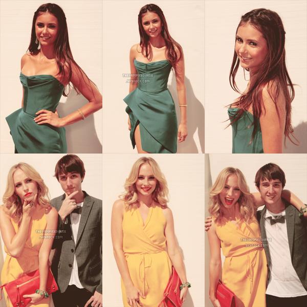EVENT - 22 juillet 2012 | Nina, Paul, Ian, Kat, Candice & Michael étaient aux Teen Choice Awards 2012. Ils ont raflé pas moins de 6 récompenses (des planches de surf) sur 9 nominations ! Félicitations à la série et au cast. [ Catégories remportées cette année : meilleure série Fantasy/Sci-fi, meilleurs acteur et actrice Fantasy/Sci-fi (Ian & Nina), homme le plus sexy (Ian), meilleurs acteur et actrice secondaires (Michael & Candice) ]